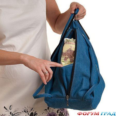 Как сшить рюкзак сумку 3