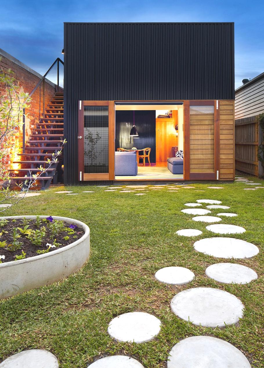 Реконструкция старого дома Brunswick House в Австралии