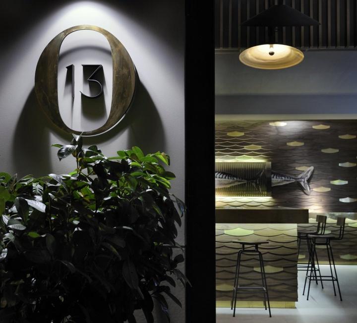 Дизайн кафе Ocean Thirteen от Ernest H?brard, Солоники, Греция