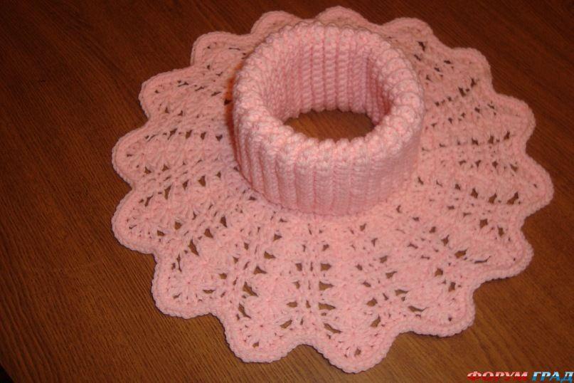 вязание спицами ажурная