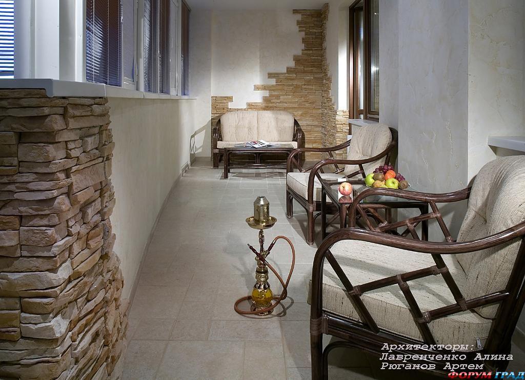 Дизайн и интерьер балкона в хрущевке