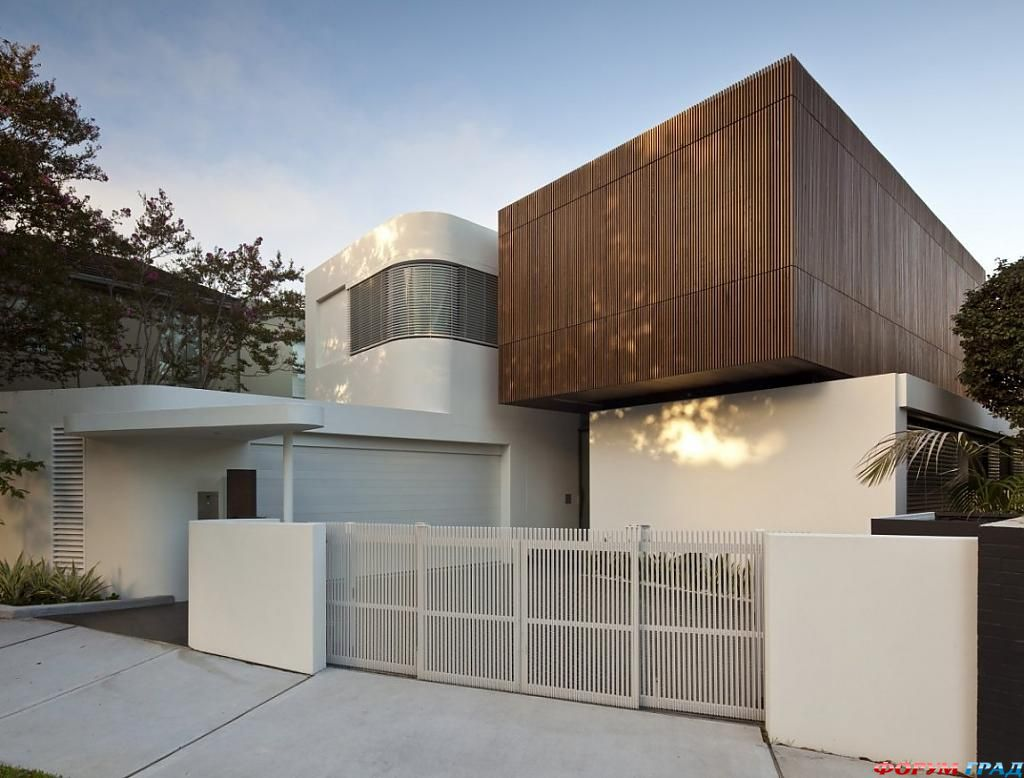 Дома Австралии: баланс открытости и приватности в Z House