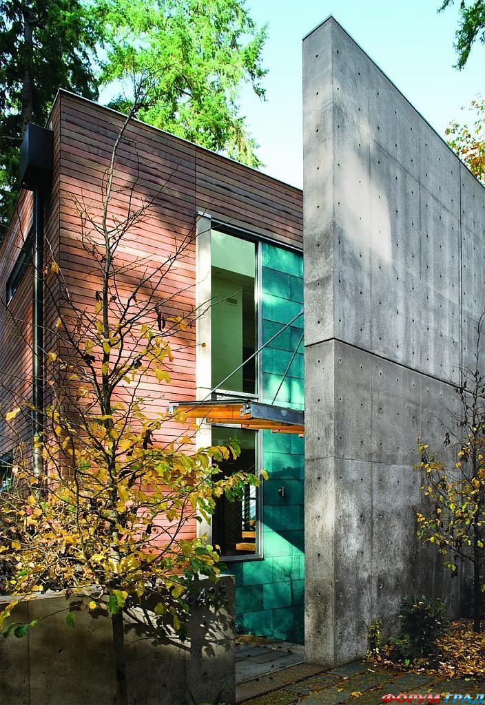 Минимализм в архитектуре: оригинальный «дом с характером» в штате Вашингтон