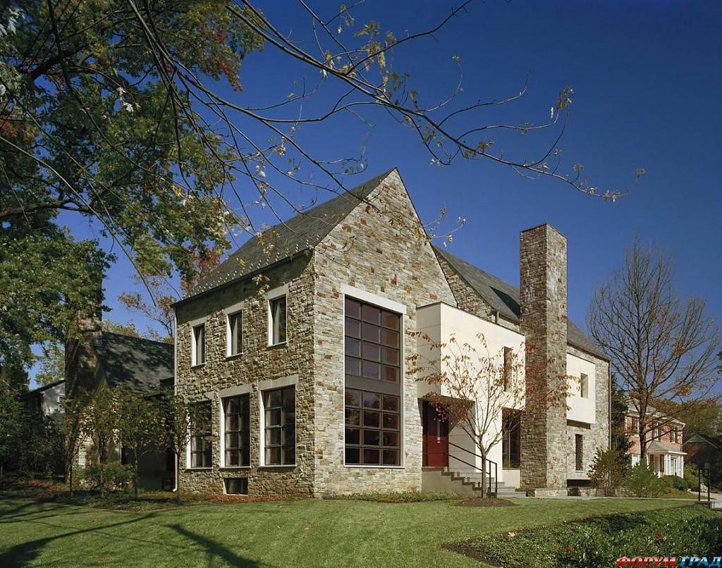 Американские дома: уютная классика от David Jameson Architect