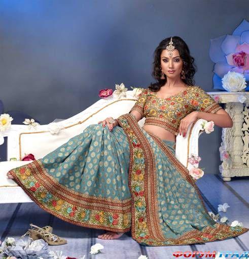 Индийский танцевальный костюм