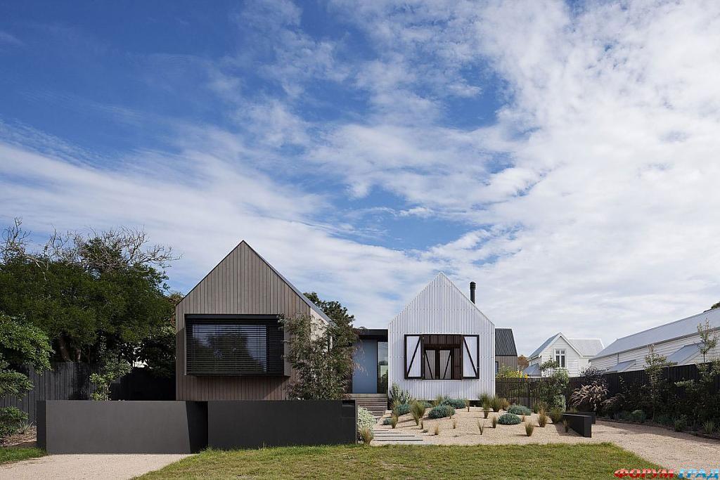 Красивые сельсике дома: фото современного коттеджа Seaview House в Австралии