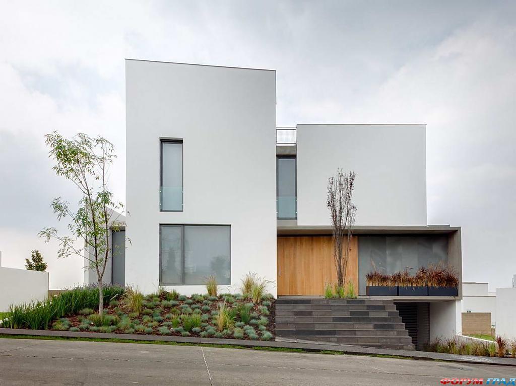 Интерьер частного дома в Мехико: натуральные оттенки и удобная планировка