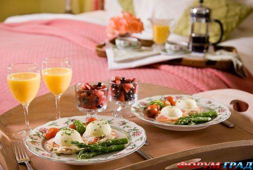 картинки романтический завтрак