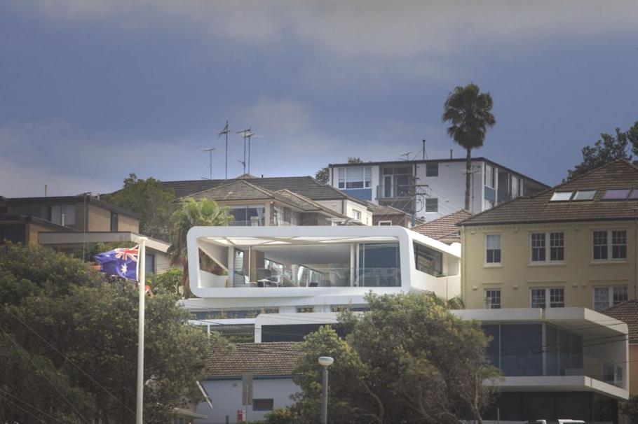 Дома Австралии: удивительный трёхэтажный Hewlett House