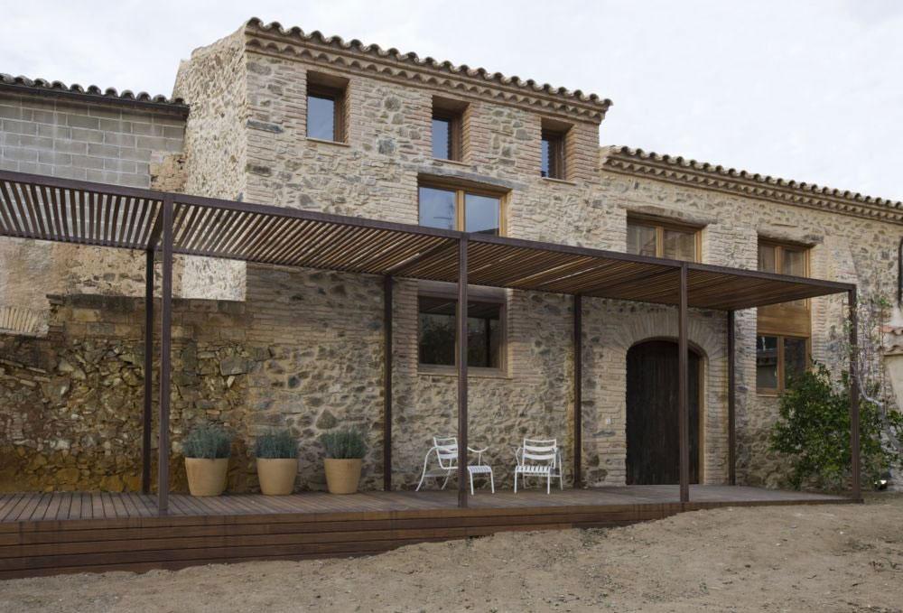 Особняк в Испании: жилой дом из старой ветряной мельницы