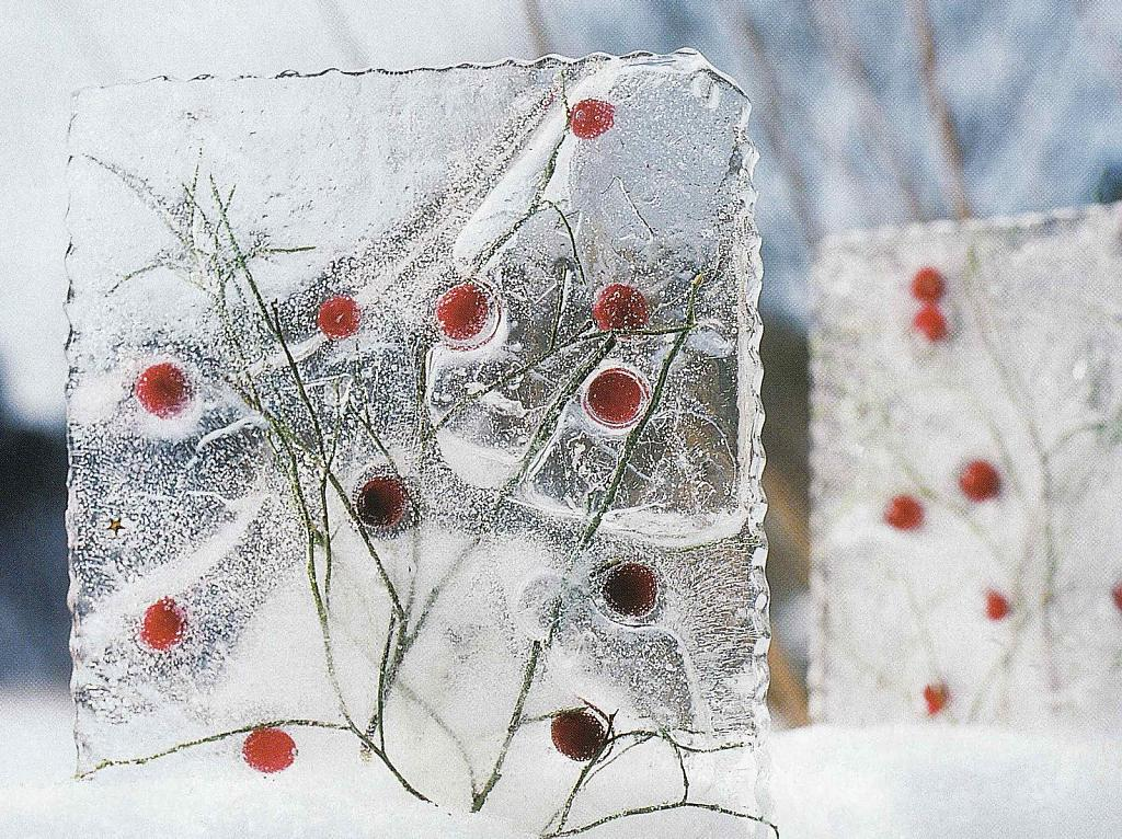 Игрушки изо льда своими руками