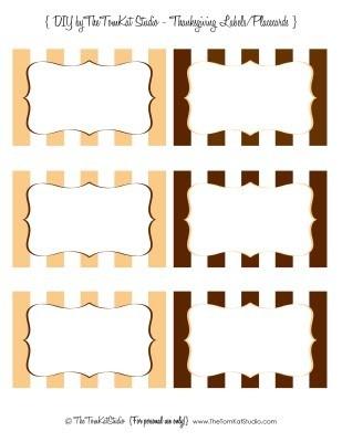 Рассадочные карточки шаблон