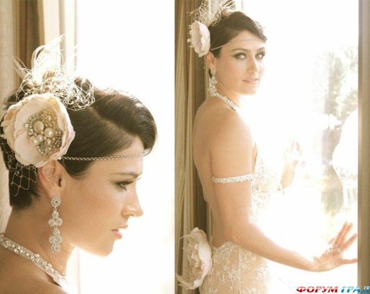 невесты с короткими стрижками фото