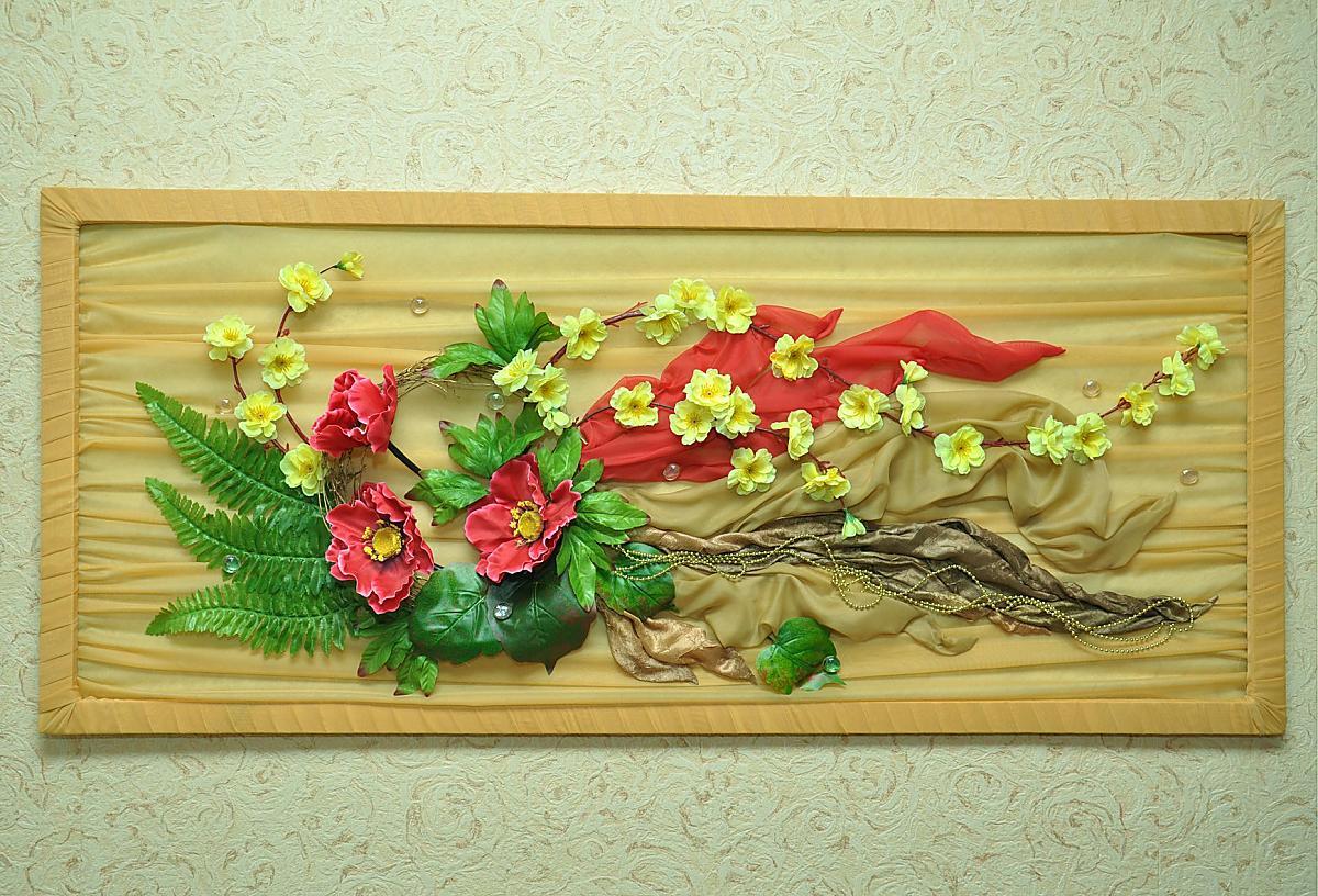 255Мастер класс по флористике из искусственных цветов