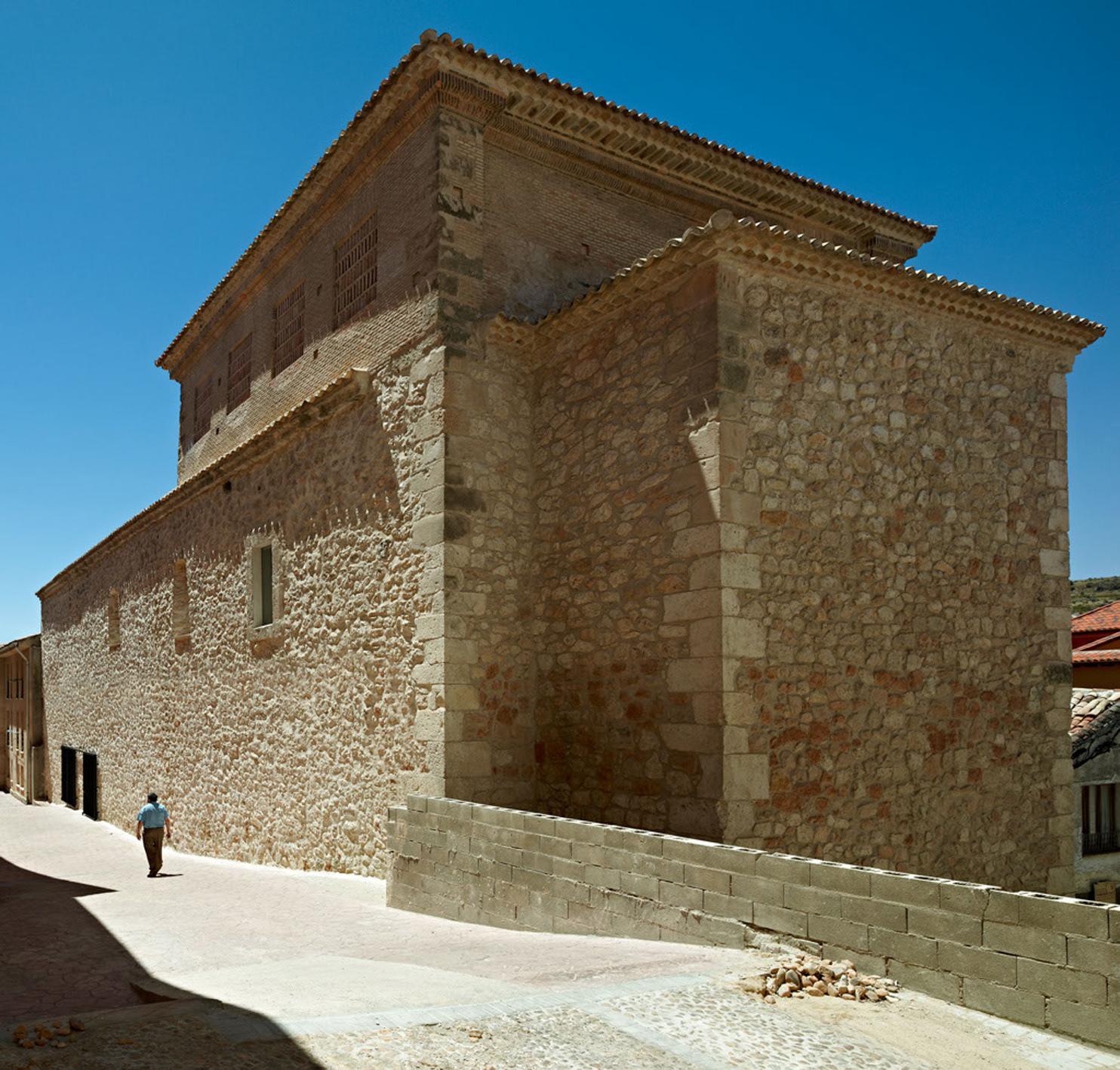 Каменное здание после реставрации