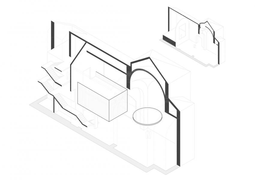 Схема входов в церковь