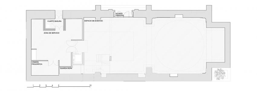 Планировка здания после реставрации