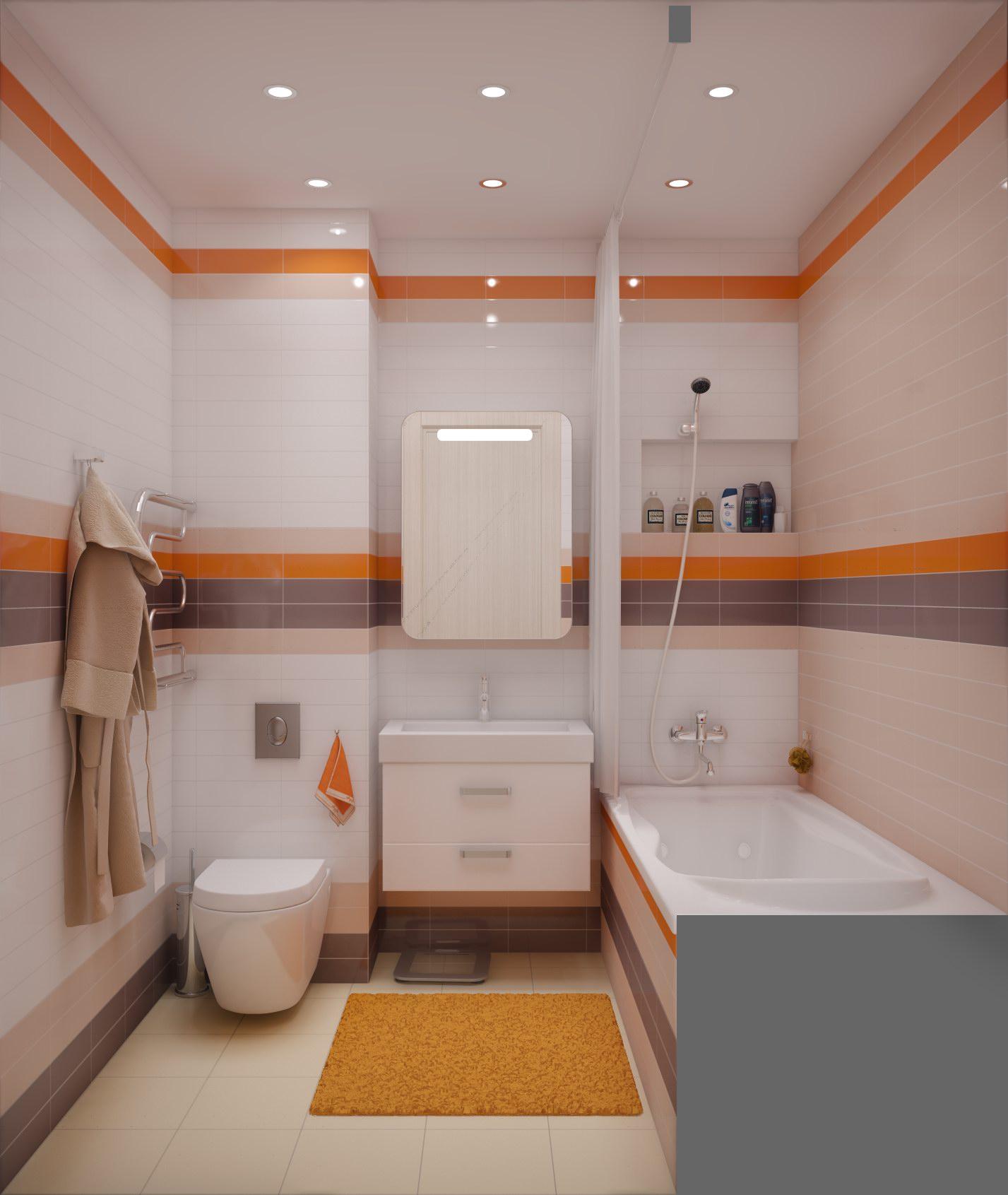 Дизайн для совмещенного туалета с ванной Обзор дизайна совмещенных санузлов
