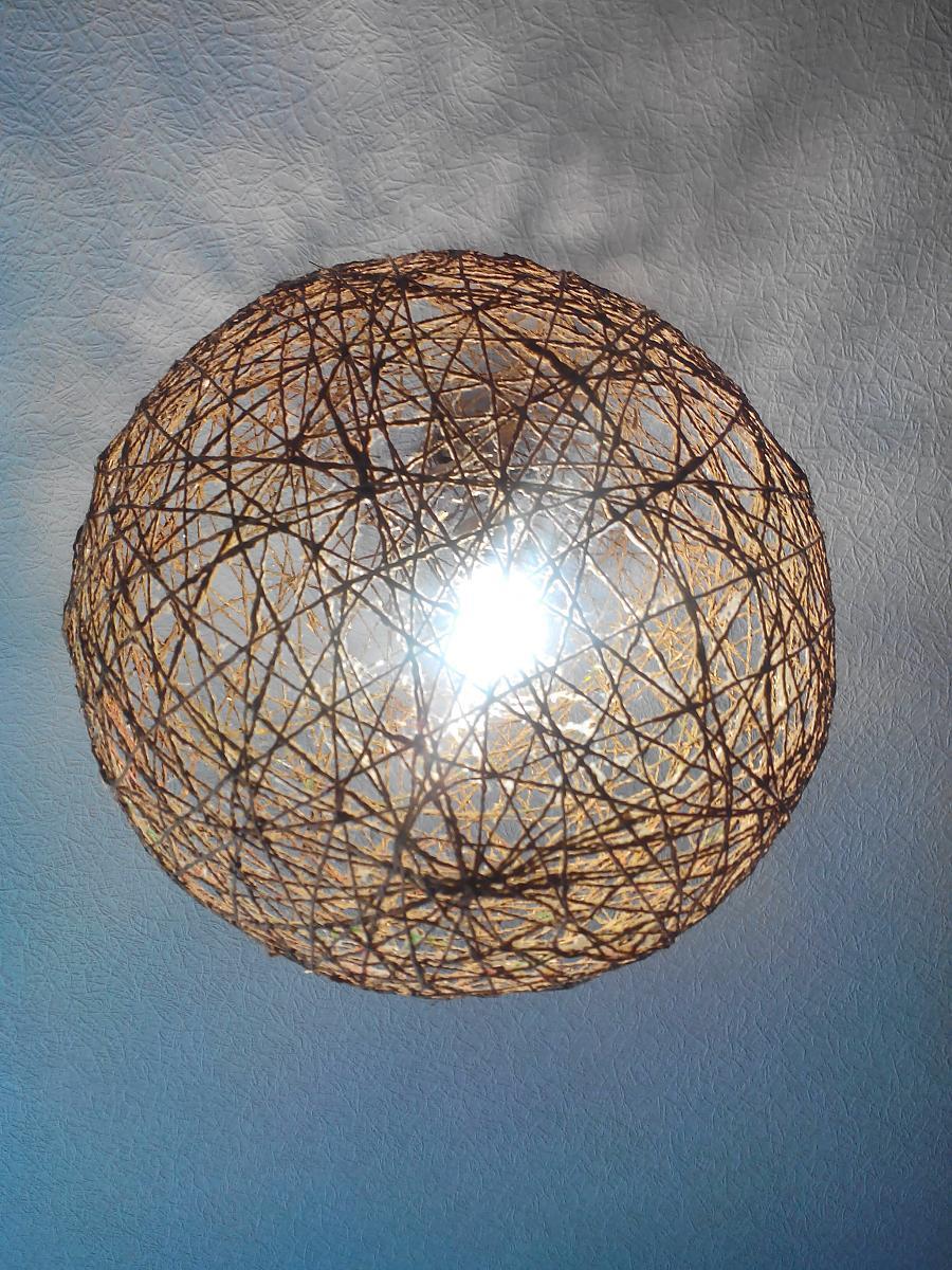 Идеи настольных ламп своими руками