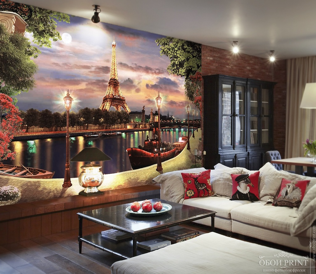Фотообои париж фото