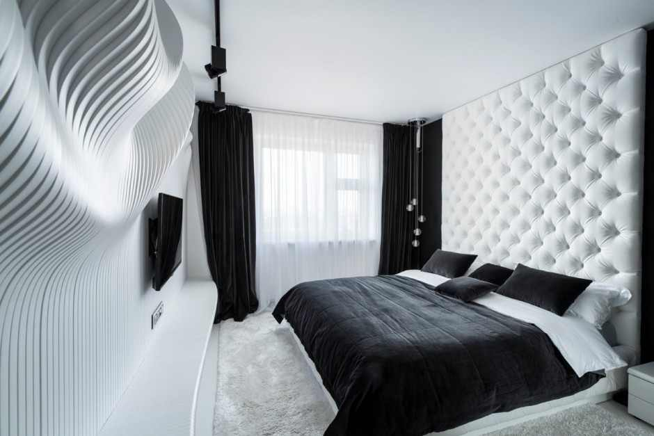 Дизайн комнаты футуристический