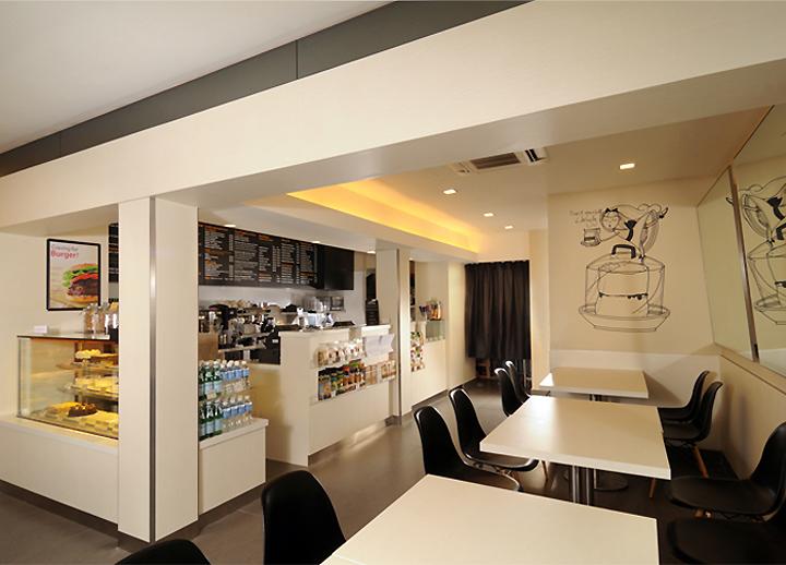 Интерьер булочной Cedele Bakery Depot  в Сингапуре