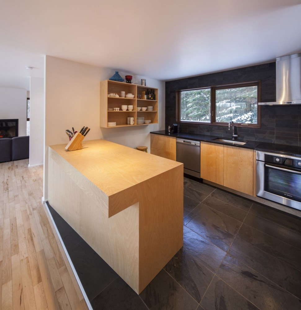 Дома в канадском стиле: сказочный коттедж Cabane 217 в Квебеке