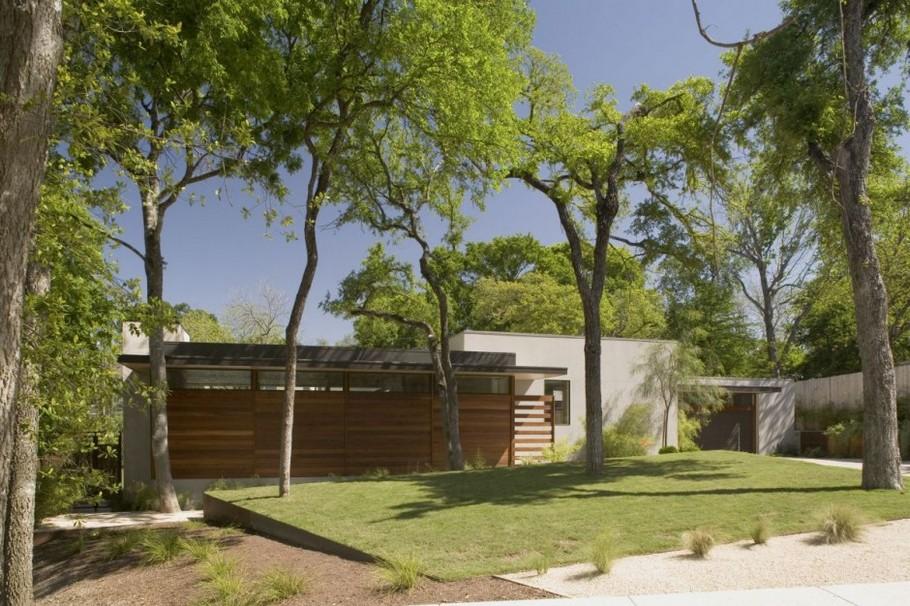Небольшой загородный дом с великолепным дизайном