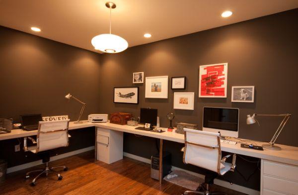 Идея современного домашнего офиса