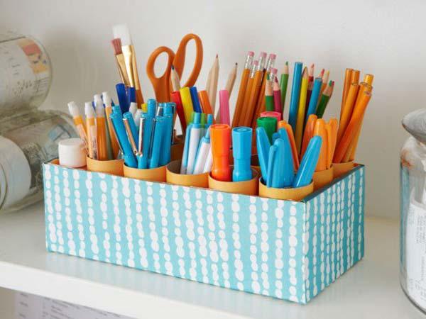 Хранение карандашей своими руками
