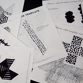 black and white ornament-03