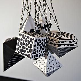 black and white ornament-07