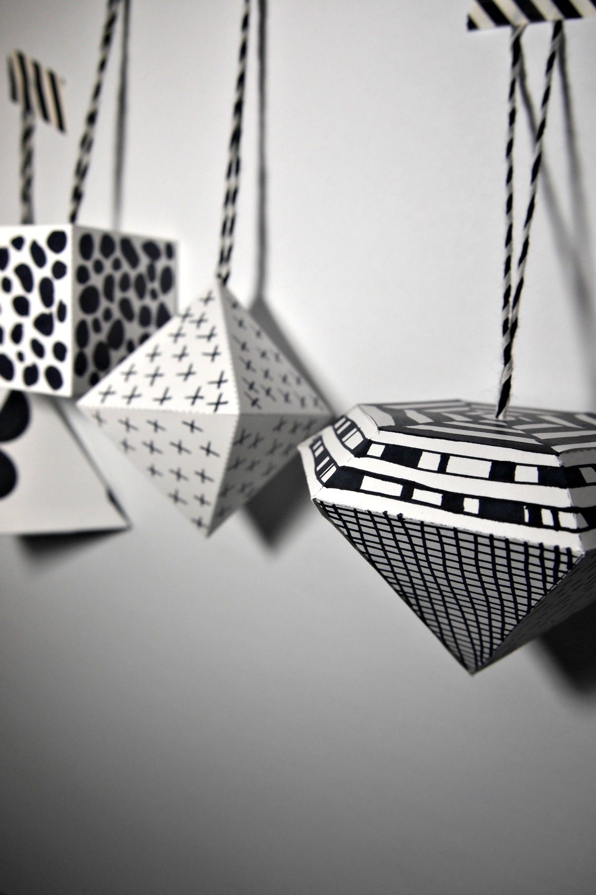 black and white ornament-10