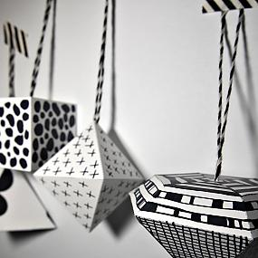 black and white ornament-10