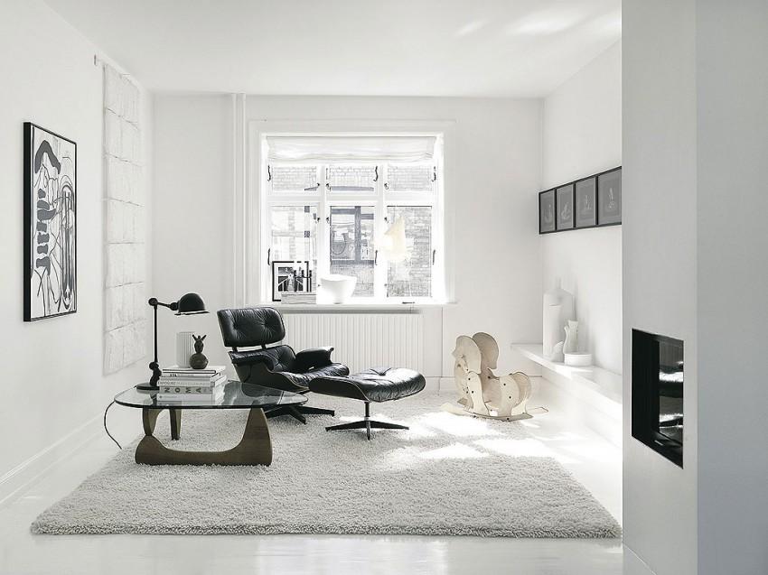 Датский дизайн интерьера обновлённого старинного дома в Копенгагене