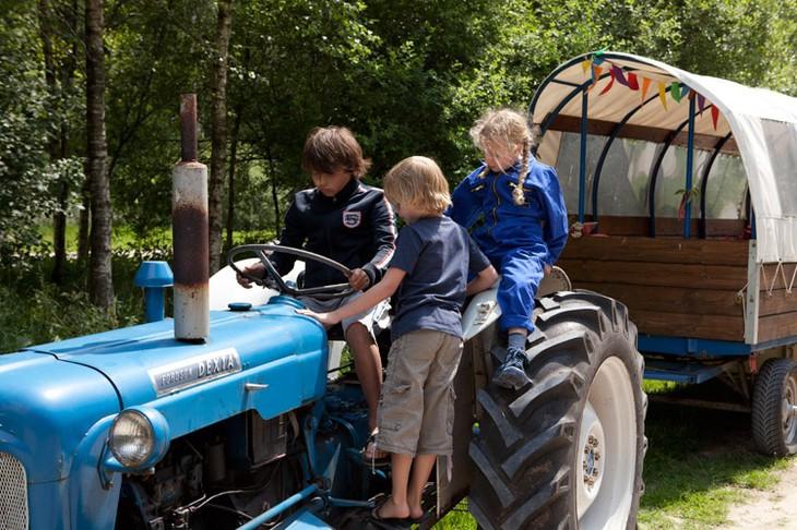 Фермерский гарнитур - трактор