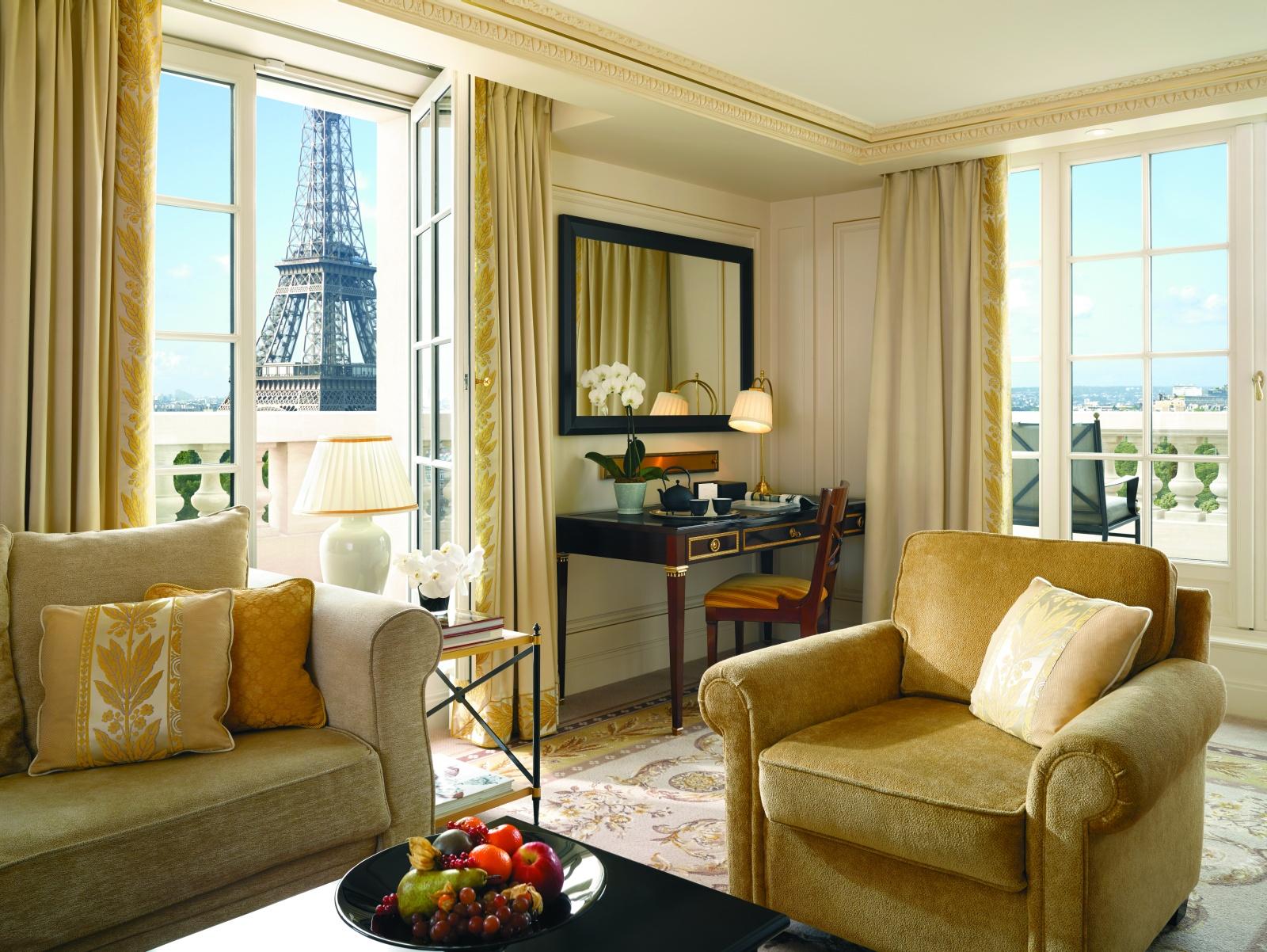 Гостиная отеля Shangri-La