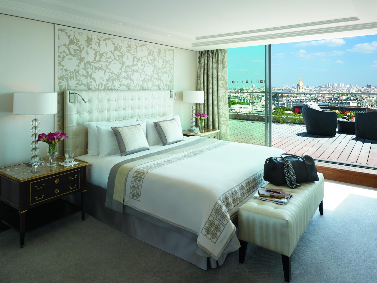 Спальная комната отеля Shangri-La