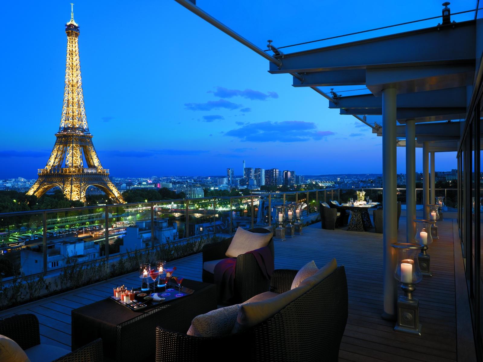 Балко отеля Shangri-La