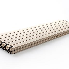 folding bench in modern style-05