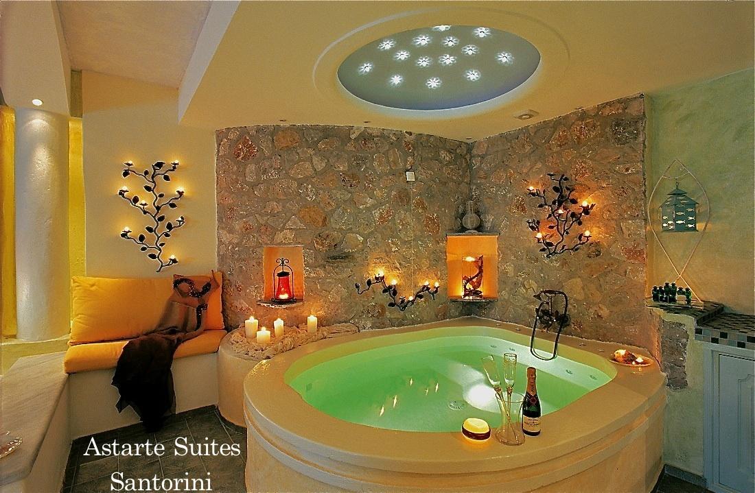 Джакузи отеля Astarte Suites