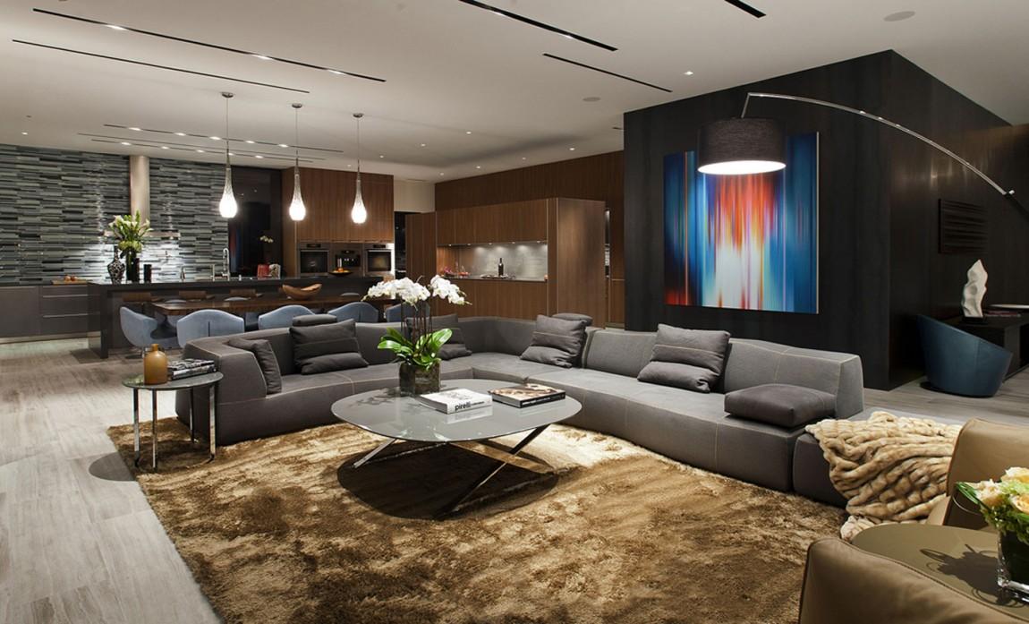 Современный дизайн в частном доме