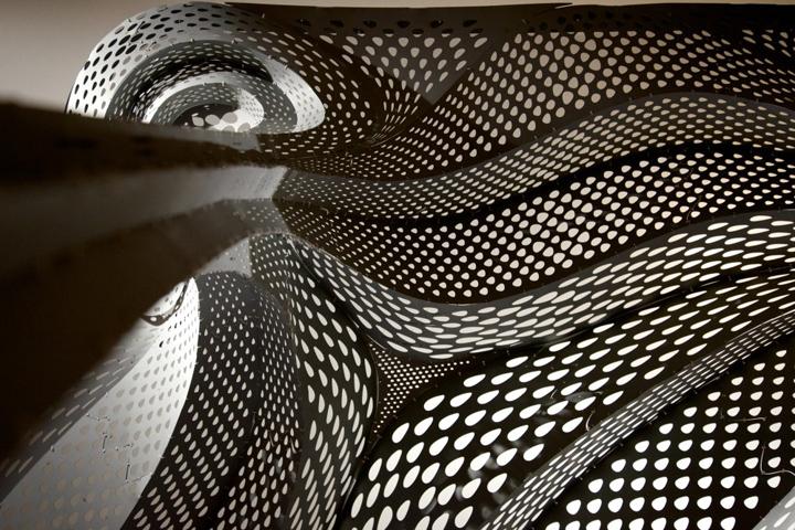 Красивая структура изгибов