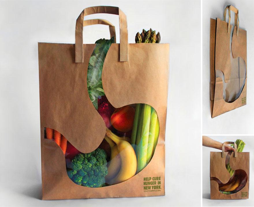 Пакет для покупок овощей и фруктов