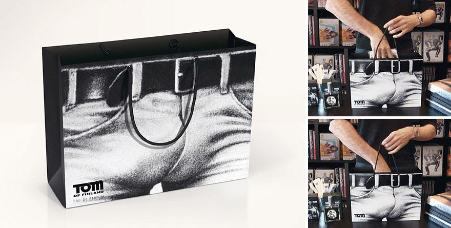 Пакет с изображением мужского белья