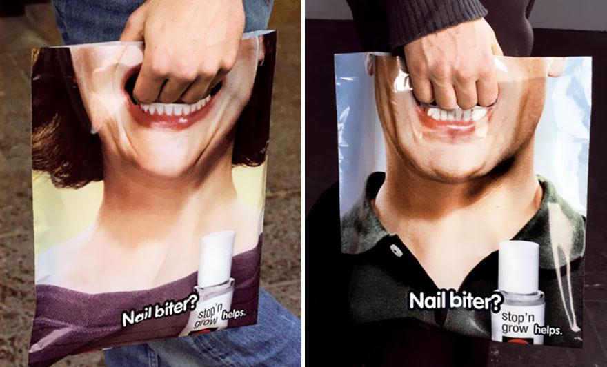 Пакет с изображением зубов