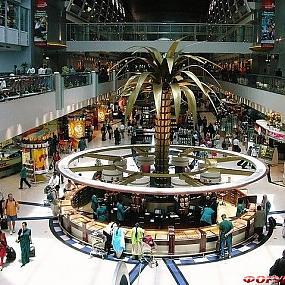 Схема Аэропорта Дубай.