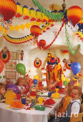 Скатерть для детского праздничного