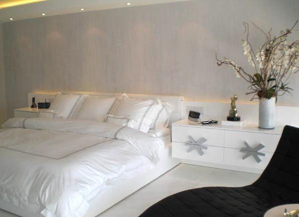 шикарная спальня в современном стиле фото