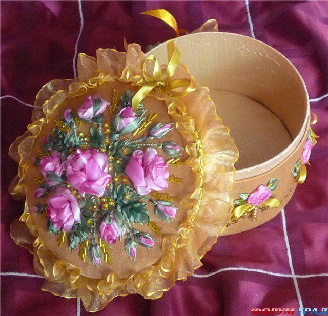 Коробочка для бисера своими руками фото 995